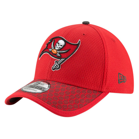 NEW ERA NFL17 TAMPA BAY BUCCANEERS 3930 OFFICIAL SIDELINE CAP OTC
