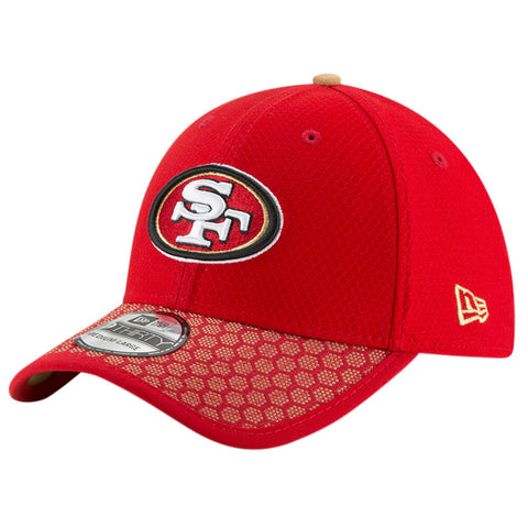 NEW ERA NFL17 SAN FRANCISCO 49ERS 3930 OFFICIAL SIDELINE CAP OTC