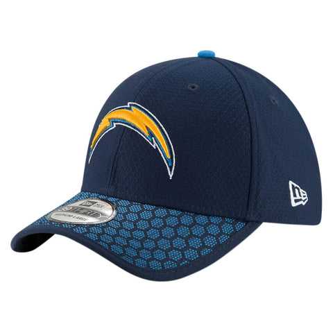 NEW ERA NFL17 LOS ANGELES CHARGERS 3930 OFFICIAL SIDELINE CAP OTC
