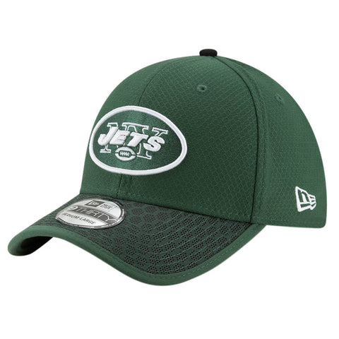 NEW ERA NFL17 NEW YORK JETS 3930 OFFICIAL SIDELINE CAP OTC