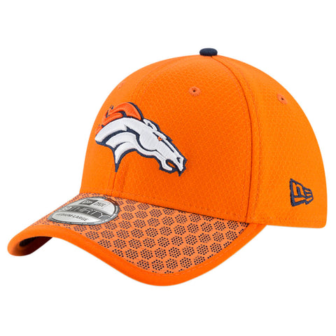 NEW ERA NFL17 DENVER BRONCOS 3930 OFFICIAL SIDELINE CAP OTC