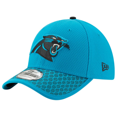NEW ERA NFL17 CAROLINA PANTHERS 3930 OFFICIAL SIDELINE CAP OTC