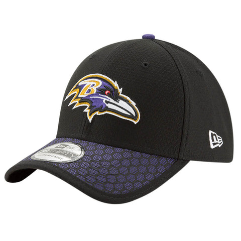 NEW ERA NFL17 BALTIMORE RAVENS 3930 OFFICIAL SIDELINE CAP OTC