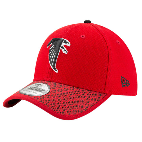 brand new e866d 647d5 NEW ERA NFL17 ATLANTA FALCONS 3930 OFFICIAL SIDELINE CAP OTC