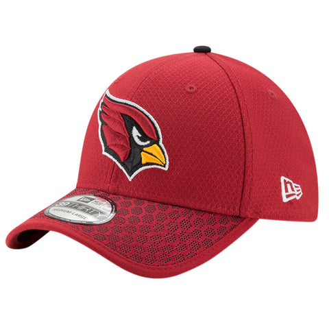 NEW ERA NFL17 ARIZONA CARDINALS 3930 OFFICIAL SIDELINE CAP OTC