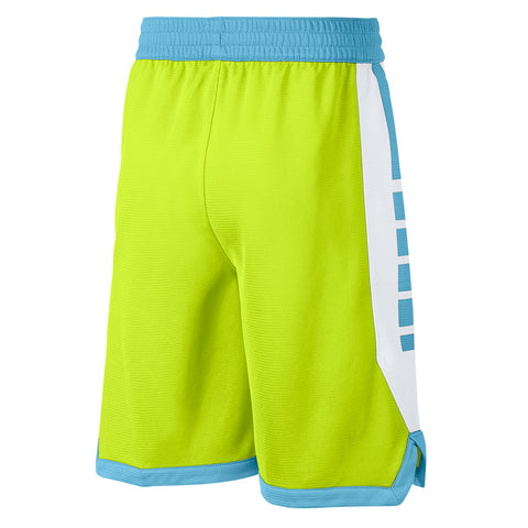 NIKE BOY'S DRY ELITE STRIPE SHORT CYBER/BLUE