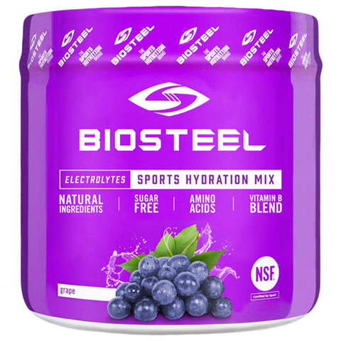 BIOSTEEL HPS MIX TUB GRAPE 140G