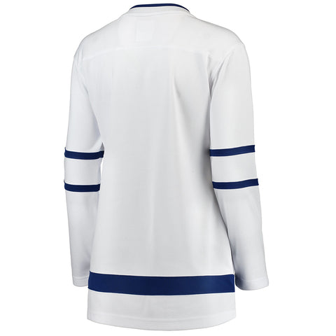 FANATICS WOMEN'S TORONTO MAPLE LEAFS REPLICA ROAD JERSEY WHITE