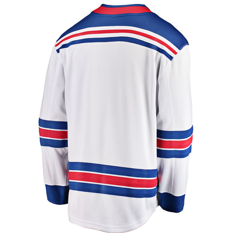FANATICS MEN'S NEW YORK RANGERS ROAD JERSEY WHITE