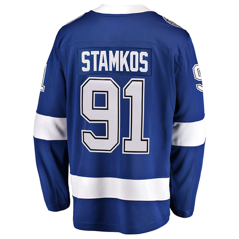 FANATICS MEN'S TAMPA BAY LIGHTNING STAMKOS HOME JERSEY