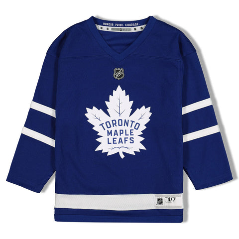 OUTERSTUFF 4-7 TORONTO MAPLE LEAFS TAVARES HOME JERSEY BLUE