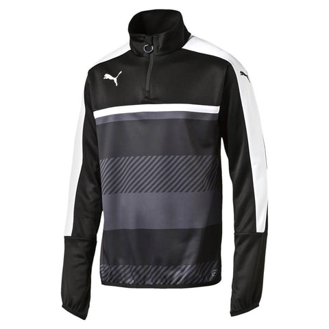 PUMA MEN'S VELOCE 1/4 ZIP TRAINING TOP BLACK