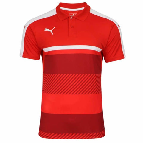 PUMA BOY'S VELOCE POLO RED