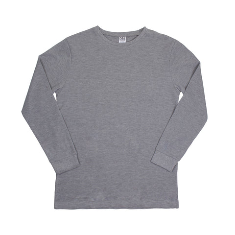 DENSLEY & CO MEN'S THERMAL BASE LAYER TOP GREY