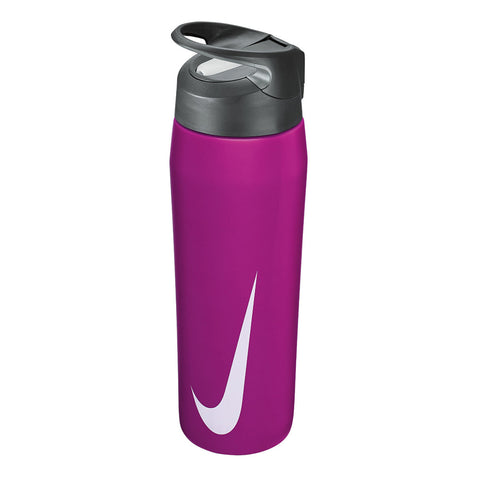NIKE STAINLESS STEEL HYPER CHARGE STRAW BOTTLE 710ML VIOLET