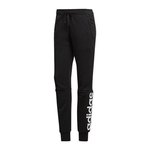 ADIDAS WOMEN'S ESSENTIAL LINEAR CUFFED PANT BLACK