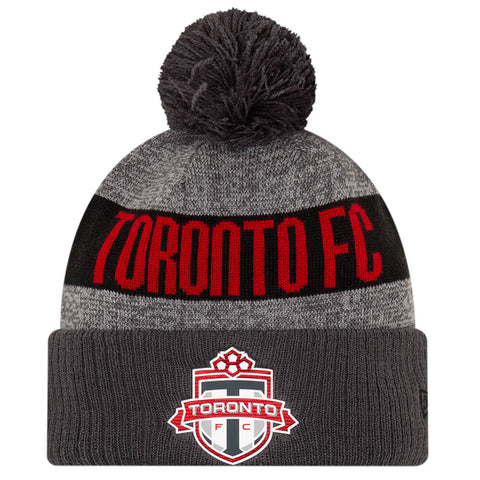 NEW ERA MEN'S TORONTO FC ONFIELD 19 POM KNIT HAT