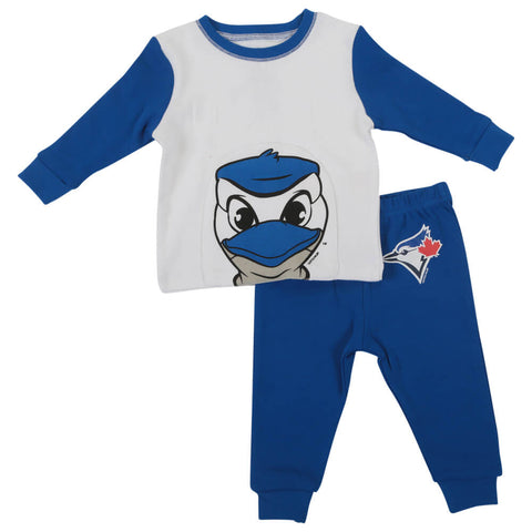 GERTEX BOYS TORONTO BLUE JAYS 2 PIECE PAJAMA SET