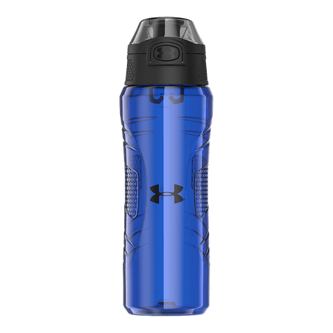 UNDER ARMOUR 24OZ TRITAN FLIP BOTTLE BLUE JET
