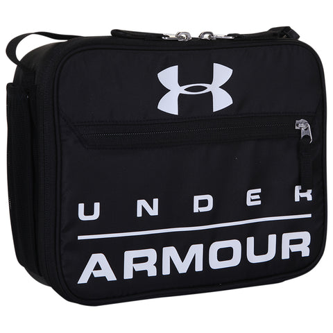 UNDER ARMOUR UA SCRIMMAGE LUNCH BOX BLACK