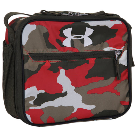 UNDER ARMOUR UA SCRIMMAGE LUNCH BOX BANDIT MARTIAN RED