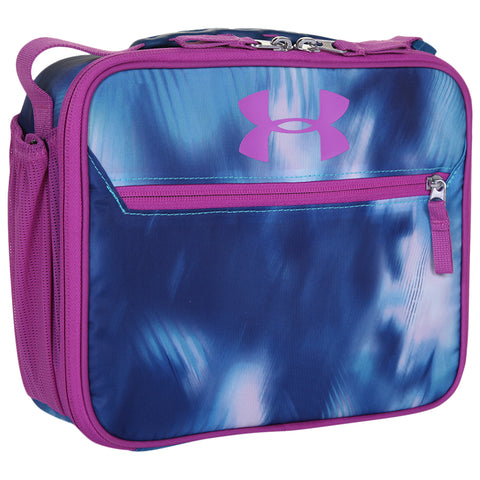 UNDER ARMOUR UA SCRIMMAGE LUNCH BOX OPTIC PURPLE FREE