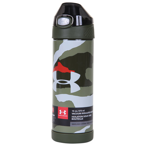 UNDER ARMOUR 16OZ PROTEGE INSULATED BOTTLE BANDIT MARTIAN RED