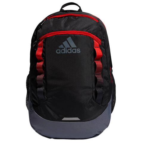 ADIDAS EXCEL LV BACPACK BLACK/ACTIVE RED