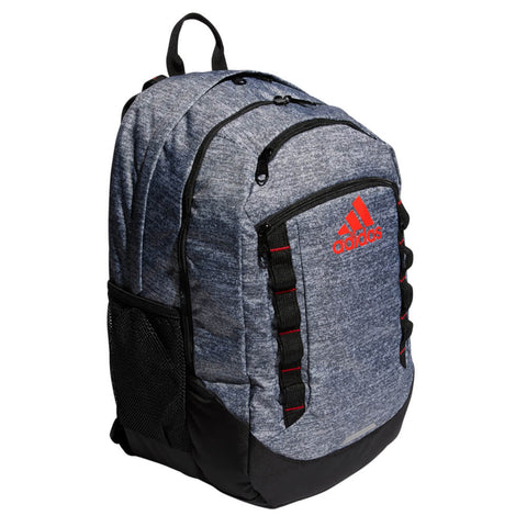 ADIDAS EXCEL LV BACKPACK JERSEY ONIX/ACTIVE RED