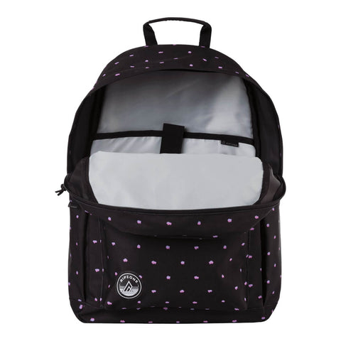RIPZONE MONA BACKPACK 25L BLACK COMPARTMENT