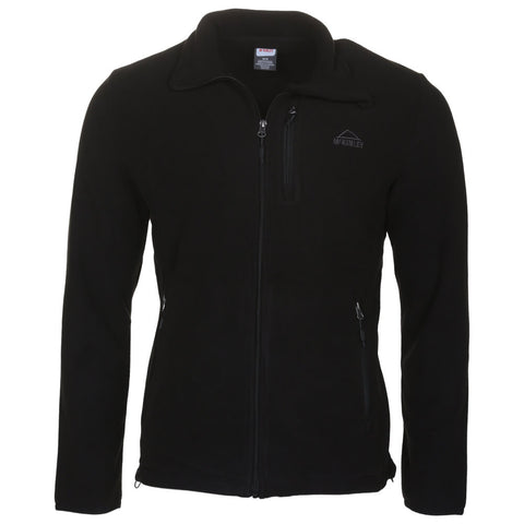 MCKINLEY MEN'S COARI III FLEECE JACKET BLACK