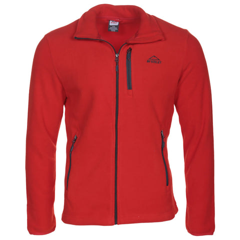 MCKINLEY MEN'S COARI III FLEECE JACKET FIERY RED