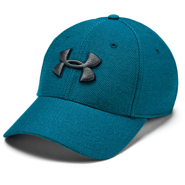 298a3f313 UNDER ARMOUR MEN'S HEATHERED BLITZING 3.0 CAP TEAL VIBE