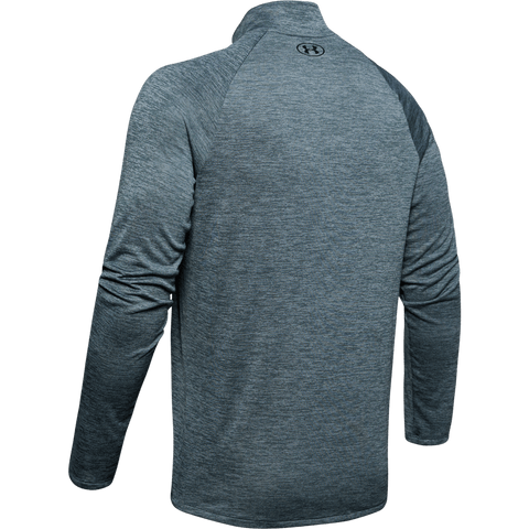 UNDER ARMOUR MEN'S TECH 2.0 1/2 ZIP LONG SLEEVE TOP WIRE BACK
