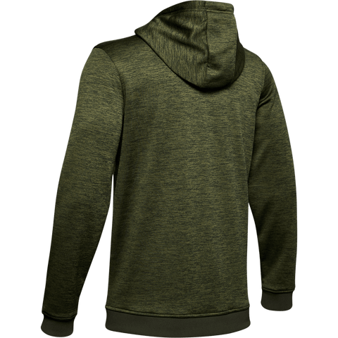 UNDER ARMOUR MEN'S AMROUR FLEECE TWIST HOODY BAROQUE GREEN BACK