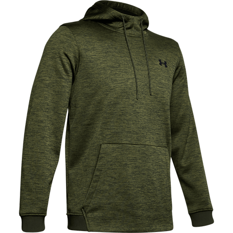 UNDER ARMOUR MEN'S AMROUR FLEECE TWIST HOODY BAROQUE GREEN