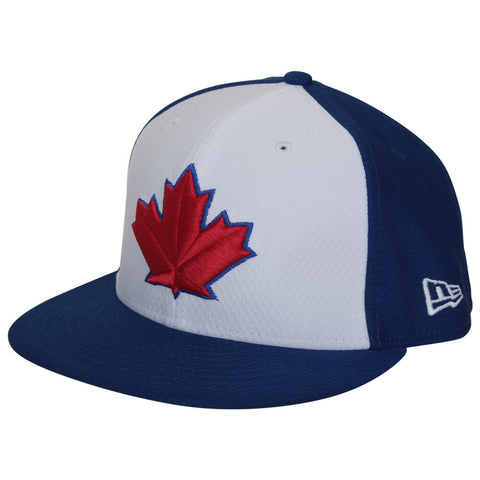 NEW ERA MEN'S TORONTO BLUE JAYS 5950 BATTING PRACTICE (SPRING TRAINING 2019 PATCH) HAT