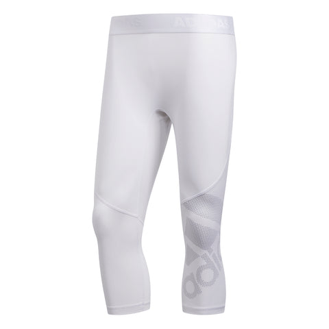 ADIDAS M ALPHASKIN SPORT 3/4 TIGHT WHITE
