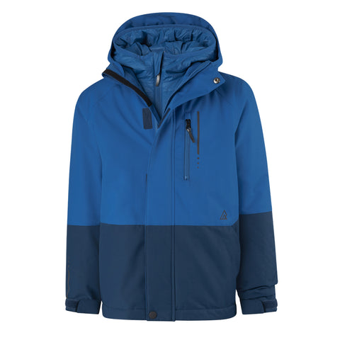 RIPZONE BOYS TAMALE 3 IN 1 JACKET SKYDIVER/BLUE OPAL
