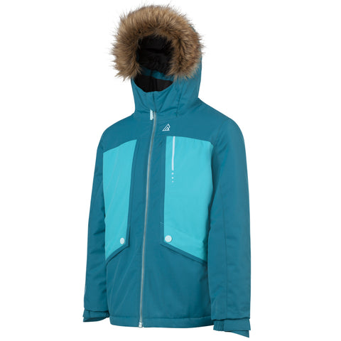 RIPZONE GIRLS LAVA INSULATED JACKET TAHITAN TIDE