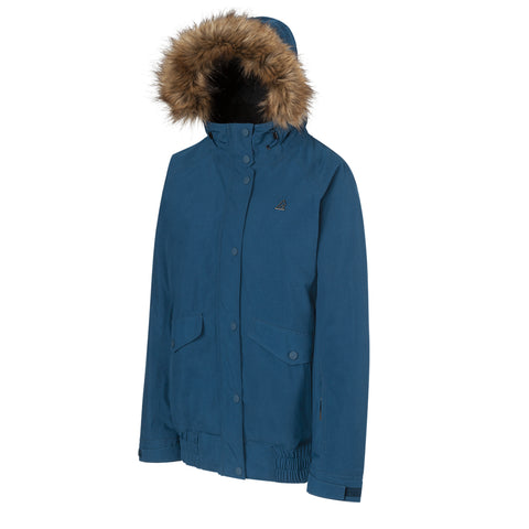 RIPZONE WOMEN'S WILDFIRE JACKET SAILOR BLUE