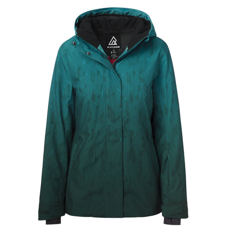 RIPZONE WOMEN'S GLORY SE JACKET TANAGER TURQUOISE