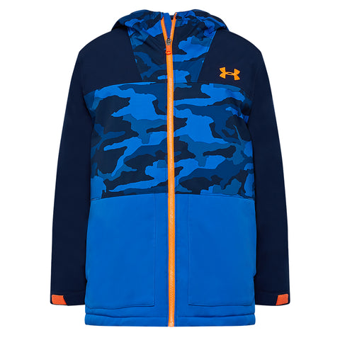 UNDER ARMOUR BOYS EAGLEUP JACKET ACADEMY/POWDERKEG BLUE