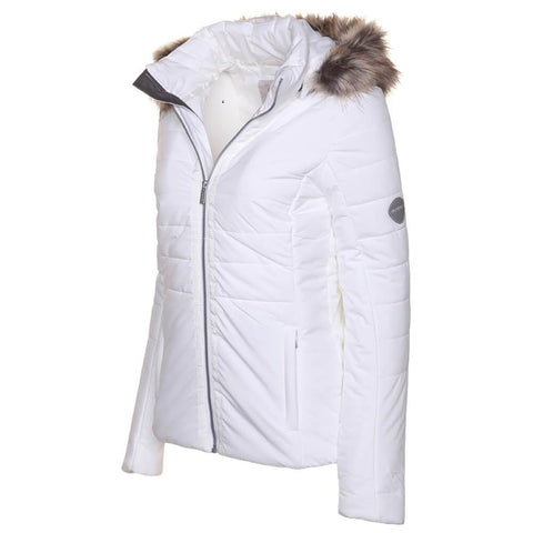 MCKINLEY WOMEN'S CHLOE DOWNLOOK PARKA BRIGHT WHITE ANGLE