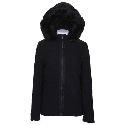 MCKINLEY WOMEN'S CHLOE DOWNLOOK PARKA BLACK