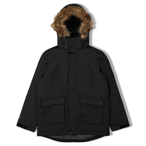 MCKINLEY BOYS MACY INSULATED PARKA BLACK
