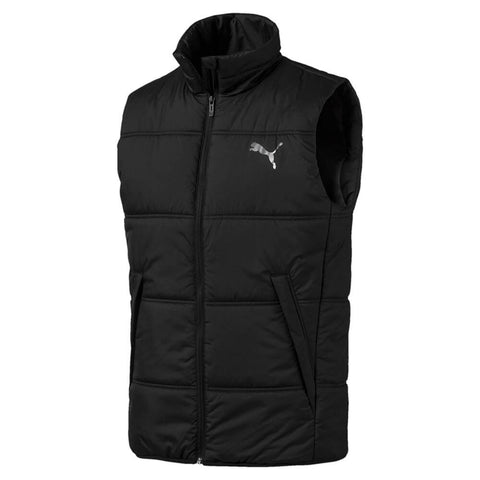 PUMA MEN'S ESSENTIALS PADDED VEST BLACK