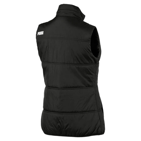PUMA WOMEN'S ESSENTIALS PADDED VEST BLACK