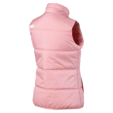 PUMA WOMEN'S ESSENTIALS PADDED VEST BRIDAL ROSE