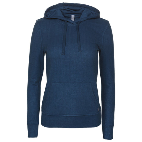 RIPZONE WOMEN'S KNOLL PULLOVER BLUE WING TEAL